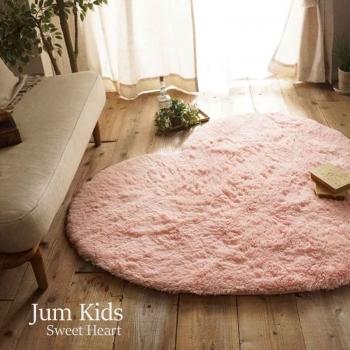 Ковер сердце розовый JumKids